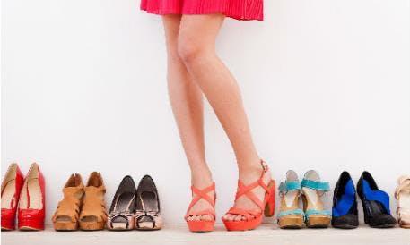 Schuhe zu den Shopping Weeks