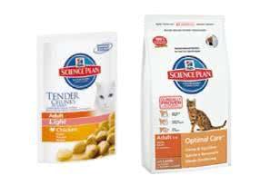 Gratis-Futterproben für Katzen von Hill's Pet