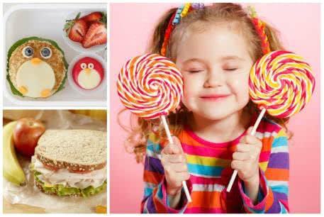 Geschenke zum Schulanfang: auch Süßigkeiten gehören dazu