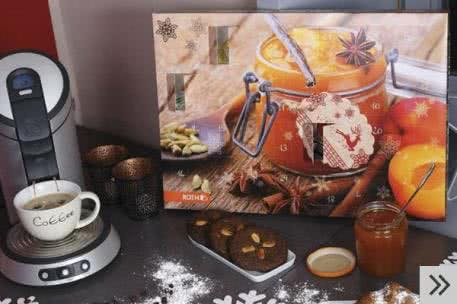 Adventskalender für Erwachsene: voll mit Frühstücksleckereien