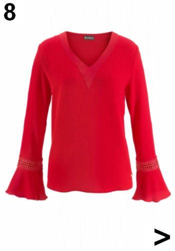 Rote Bluse von OTTO