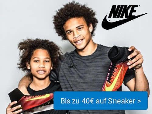 Nike 40€-Gutschein für Sneaker