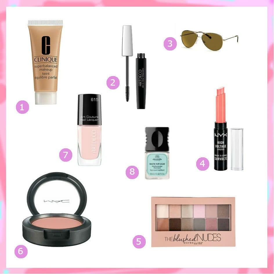 Kosmetik für den Frühlingstyp
