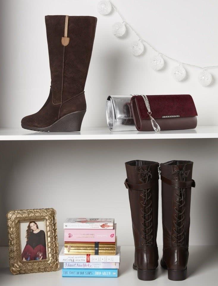 Nicht nur für Plus-Size-Beauties: die wunderschönen Sheego-Lederstiefel