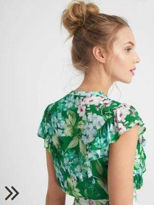Blumenprint-Bluse von Orsay
