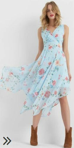 Asymmetrisches Kleid von Orsay