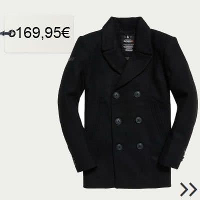 Zweireiher Mantel für Herren