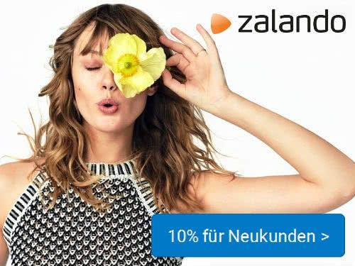 Zalando 10%-Gutschein für Neukunden