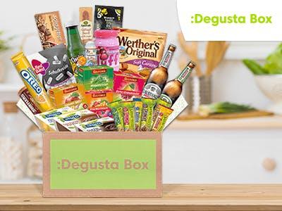 Degustabox: 3 Monate für 2 + kostenloser Versand