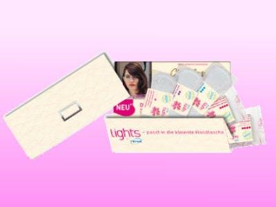 TENA-lights-Slipeinlagen gratis bestellen