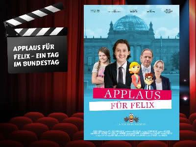 """Jetzt die DVD """"Applaus für Felix"""" bestellen"""