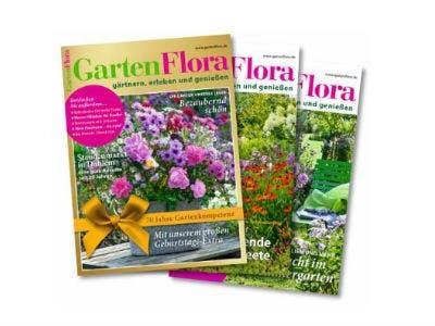 """3 Ausgaben """"GartenFlora"""" kostenlos sichern (Bezug endet automatisch)"""
