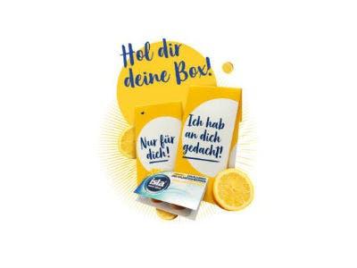 Zitrus-Honig Lutschtabletten gratis anfordern