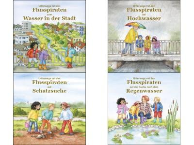 4 Abbildungen der kostenlosen Kinderbücher