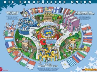 """Gratis-Plakat """"Die Europäische Union"""" für Kinder bestellen"""