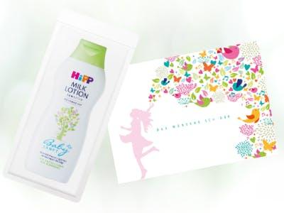 Produktprobe HiPP Babysanft Milk Lotion