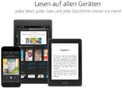 Kindle Unlimited auf dem Tablet, Smartphone oder PC nutzen