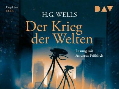 """DAV-Hörbuch """"H.G. Wells - Der Krieg der Welten"""" Cover"""