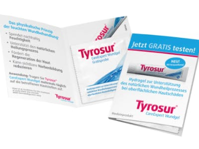 Tyrosur-Wundgel gratis