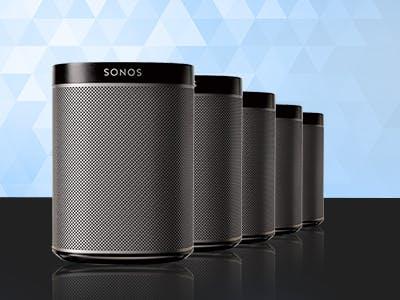 Sonos-Lautsprecher gewinnen