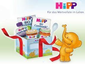 Gratis Babypaket Hipp