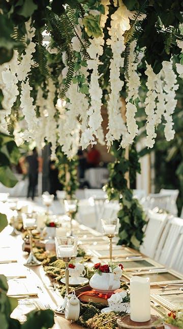 Hochzeit im Natural-Wedding-Stil