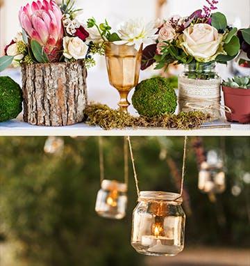 Der Natural-Wedding-Look in der Nahaufnahme