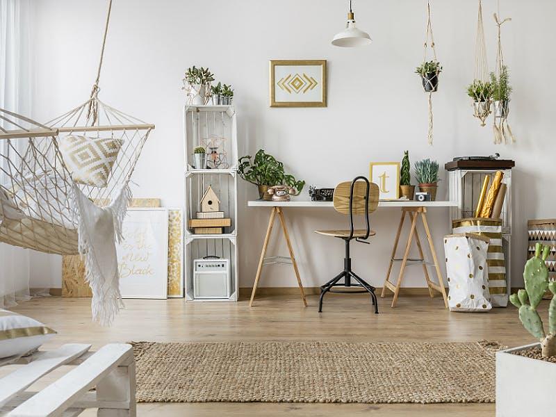 Materialien und Möbel für den Urban Jungle Style