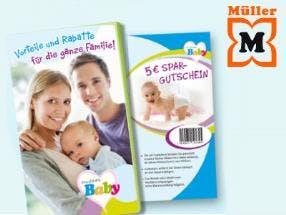 Gratis Babypaket Müller
