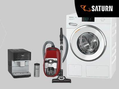 Jetzt 50€ oder 100€ Cashback auf Geräte von Miele sichern bei Saturn