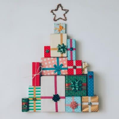 Schöne bunte Geschenke