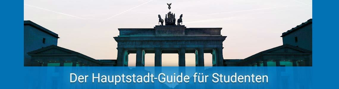 Brandenburger Tor, Übersicht Studieren in Berlin