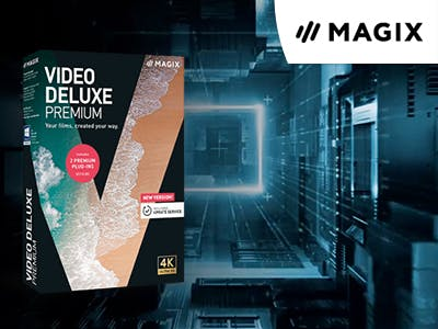 EXKLUSIV: 42% Rabatt auf MAGIX Video deluxe Premium 2020