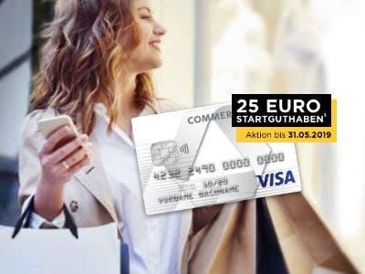 Commerzbank Prepaidkarte mit 25€ Startguthaben