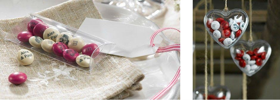 Für die besondere Hochzeit: 15€ Rabatt auf individuelle M&Ms