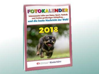 Kostenloser Fotokalender fuer Kinder 2018