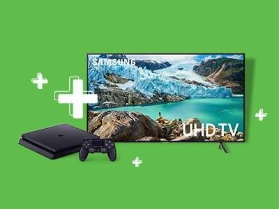 1 UHD-TV + PlayStation 4 gewinnen