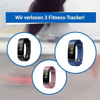 Gewinnspiel: Fitness-Tracker
