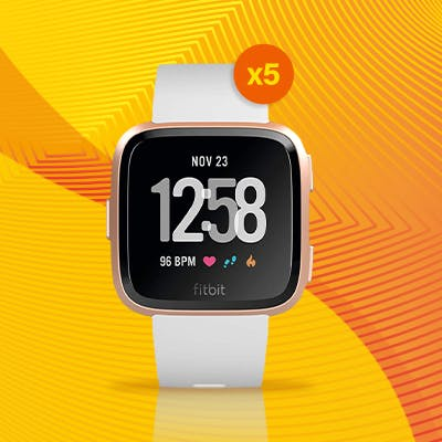 Gewinnspiel: Fitbit Versa