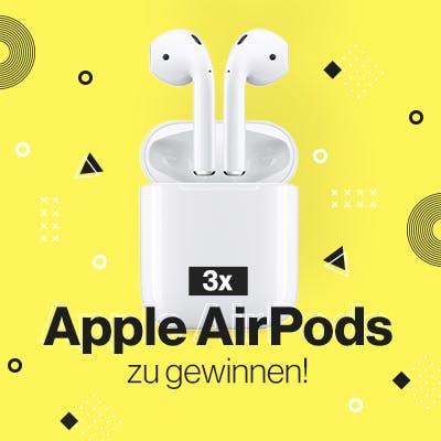 Gewinnspiel: Apple AirPids