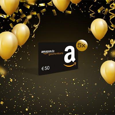 Gewinnspiel: Amazon.de-Gutscheine