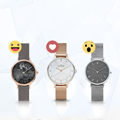 Instagram-Gewinnspiel: Skagen-Uhren