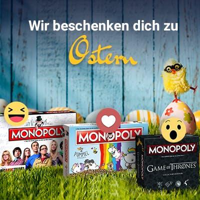 Facebook Monopoly-Gewinnspiel zu Ostern