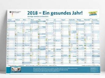 Kostenloser Jahreskalender 2018