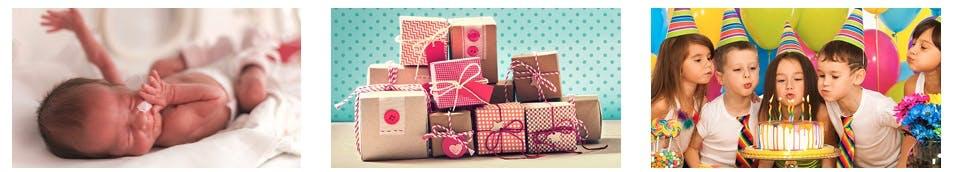 Passende Geschenke finden bei Babymarkt