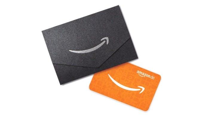 Die Geschenkkarte von Amazon