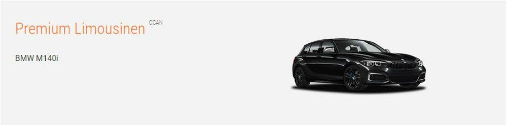 Premium Limousinen von Sixt