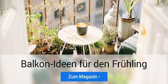 Clevere Balkon-Ideen für den Frühling