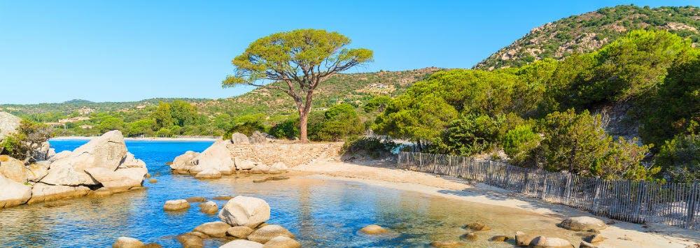 Last-Minute-Reisen an den Plage de Palombaggia auf Korsika buchen