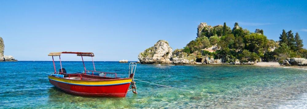 Last-Minute-Reisen an die Isola Bella, Taormina in Italien buchen